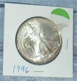 pictures of 1996 Silver Eagle Coin Prices