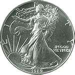 pictures of 2004 Silver Eagle Coin Value