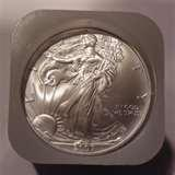 images of Silver Eagle Coin Roll Prices