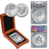 2011 Silver Eagle Coin Ms70 images