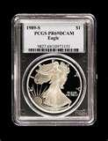 Silver American Eagles images