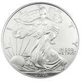 2003 Silver Eagle Coin Price photos