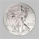 1 Oz Silver Eagle Coin For Sale images