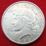 1923 Eagle Silver Dollar Coin photos
