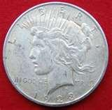 photos of 1923 Eagle Silver Dollar Coin