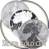 images of Silver Eagle Silver Dollar 2002