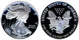 pictures of Silver Eagle Proof
