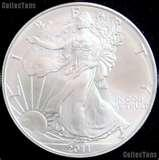 photos of Uncirculated American Eagle Silver Dollar Value