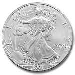 photos of 2000 Silver Eagle Coin Value