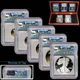 pictures of Silver Eagle Coin Proof Set