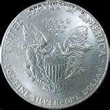 Silver Eagle Silver Dollar Coins images