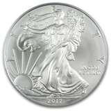2012 Silver Eagle Coin images