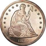 photos of Old American Silver Dollars