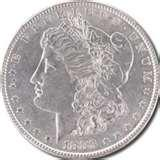 pictures of Old American Silver Dollars