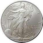 pictures of American Eagle Silver Dollar 1996 Value