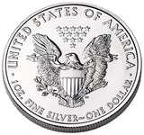 pictures of American Silver Eagle Coin