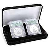 2005 Silver Eagle Coin Rolls