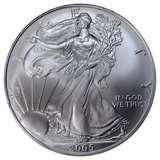 1995 W Silver Eagle Coin For Sale images