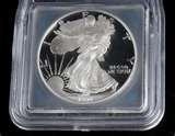 images of 1995 W Silver Eagle Coin For Sale