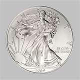 2008 Silver Eagle Coin For Sale