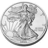 2008 American Eagle Silver Dollar Value pictures