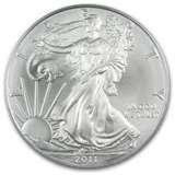 images of American Eagle Dollar Coins