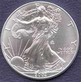 pictures of American Eagle Dollar Coins