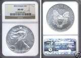 photos of 2010 Silver Eagle Coin Ms69